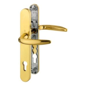 Atlanta - brass color polished door handle