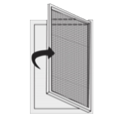 sítě do dveří a oken