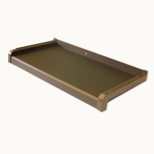 bronze aluminium window sill